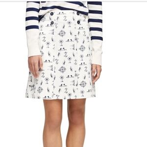 Brooks Bothers nautical skirt
